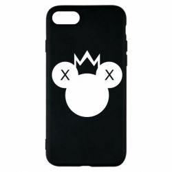 Чохол для iPhone 7 Mickey with a crown