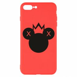 Чохол для iPhone 7 Plus Mickey with a crown