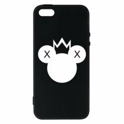 Чохол для iphone 5/5S/SE Mickey with a crown