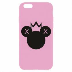 Чохол для iPhone 6/6S Mickey with a crown