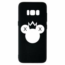 Чохол для Samsung S8 Mickey with a crown