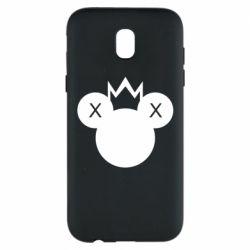 Чохол для Samsung J5 2017 Mickey with a crown