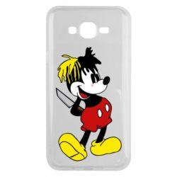 Чохол для Samsung J7 2015 Mickey XXXTENTACION