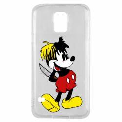 Чохол для Samsung S5 Mickey XXXTENTACION