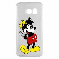 Чохол для Samsung S6 EDGE Mickey XXXTENTACION