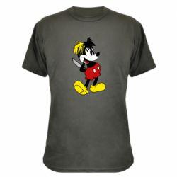 Камуфляжна футболка Mickey XXXTENTACION