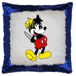 Подушка-хамелеон Mickey XXXTENTACION