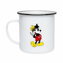 Кружка емальована Mickey XXXTENTACION