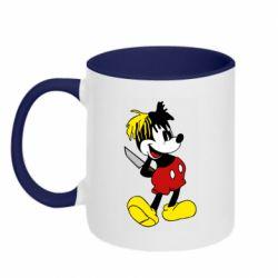 Кружка двоколірна 320ml Mickey XXXTENTACION
