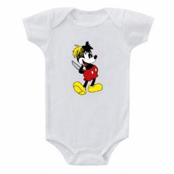Дитячий бодік Mickey XXXTENTACION