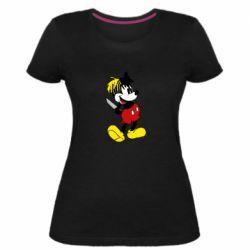 Жіноча стрейчева футболка Mickey XXXTENTACION