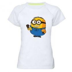 Жіноча спортивна футболка Mignon smiles