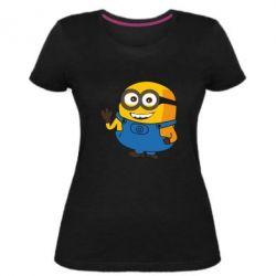 Жіноча стрейчева футболка Mignon smiles