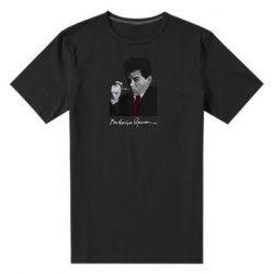 Чоловіча стрейчева футболка Михайль Семенко