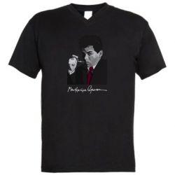 Чоловіча футболка з V-подібним вирізом Михайль Семенко