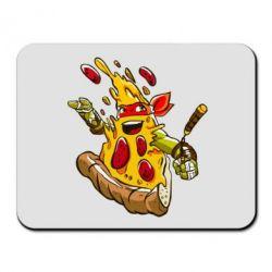 Коврик для мыши Микеланджело кусок пиццы