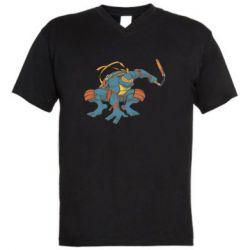 Чоловіча футболка з V-подібним вирізом Мікеланджело