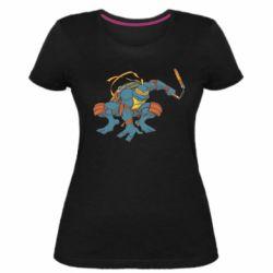 Жіноча стрейчева футболка Мікеланджело