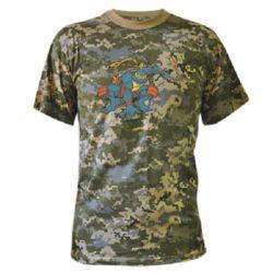 Камуфляжна футболка Мікеланджело