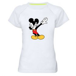 Жіноча спортивна футболка Mikey dabing
