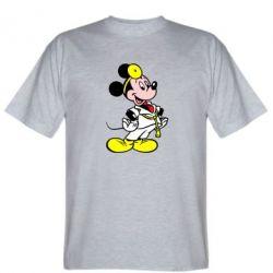 Мужская футболка Микки Доктор - FatLine