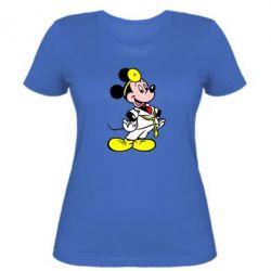 Женская футболка Микки Доктор