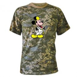 Камуфляжная футболка Микки Доктор