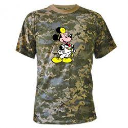 Камуфляжная футболка Микки Доктор - FatLine