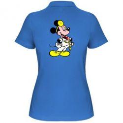 Женская футболка поло Микки Доктор
