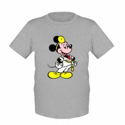 Детская футболка Микки Доктор - FatLine