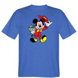 Мужская футболка Микки Джентельмен - FatLine
