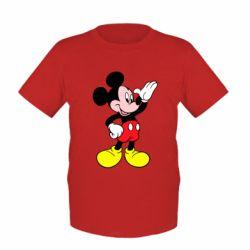 Детская футболка Микки Hello - FatLine