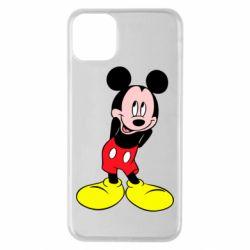 Чохол для iPhone 11 Pro Max Міккі Маус соромиться