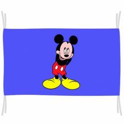 Прапор Міккі Маус соромиться