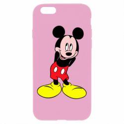 Чохол для iPhone 6 Plus/6S Plus Міккі Маус соромиться