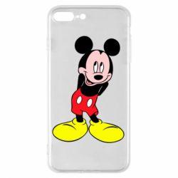 Чохол для iPhone 7 Plus Міккі Маус соромиться