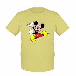 Детская футболка Микки Маус - FatLine