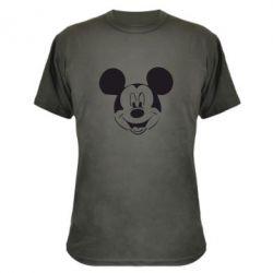 Камуфляжная футболка Микки Маус - FatLine