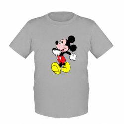 Детская футболка Микки шагает - FatLine