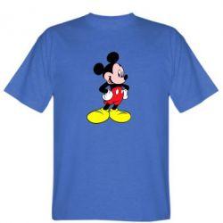Мужская футболка Микки - FatLine