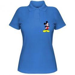 Женская футболка поло Микки - FatLine