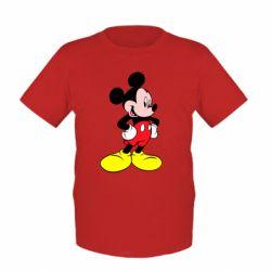 Детская футболка Микки - FatLine