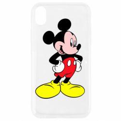 Чохол для iPhone XR Міккі