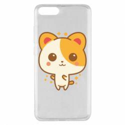 Чехол для Xiaomi Mi Note 3 Милая кися