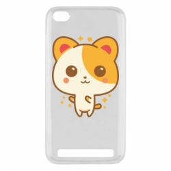 Чехол для Xiaomi Redmi 5A Милая кися