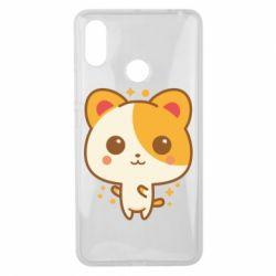 Чехол для Xiaomi Mi Max 3 Милая кися