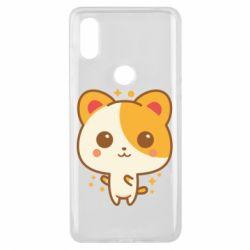 Чехол для Xiaomi Mi Mix 3 Милая кися