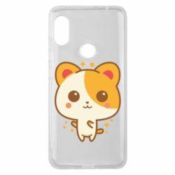 Чехол для Xiaomi Redmi Note 6 Pro Милая кися