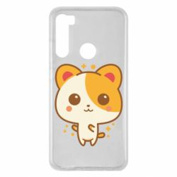 Чехол для Xiaomi Redmi Note 8 Милая кися