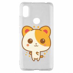 Чехол для Xiaomi Redmi S2 Милая кися